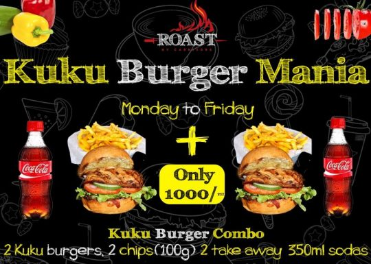 Roast by Carnivore - Kuku Burger Mania on Weekdays