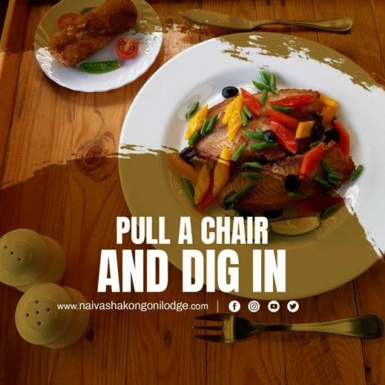 Delectable Dining at Naivasha Kongoni Lodge
