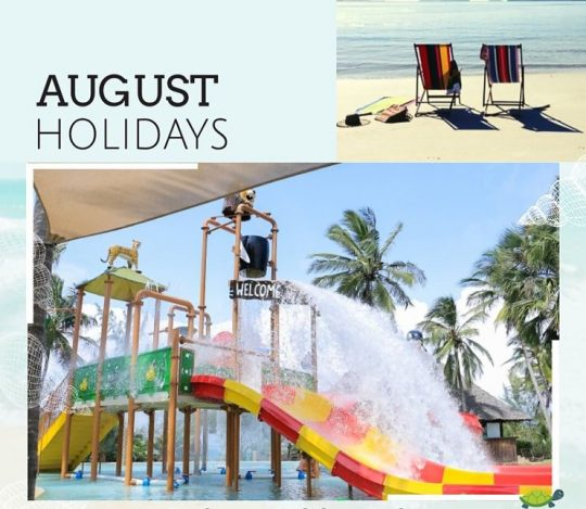 August Mombasa Holiday Offer - Prideinn Paradise Beach Resort