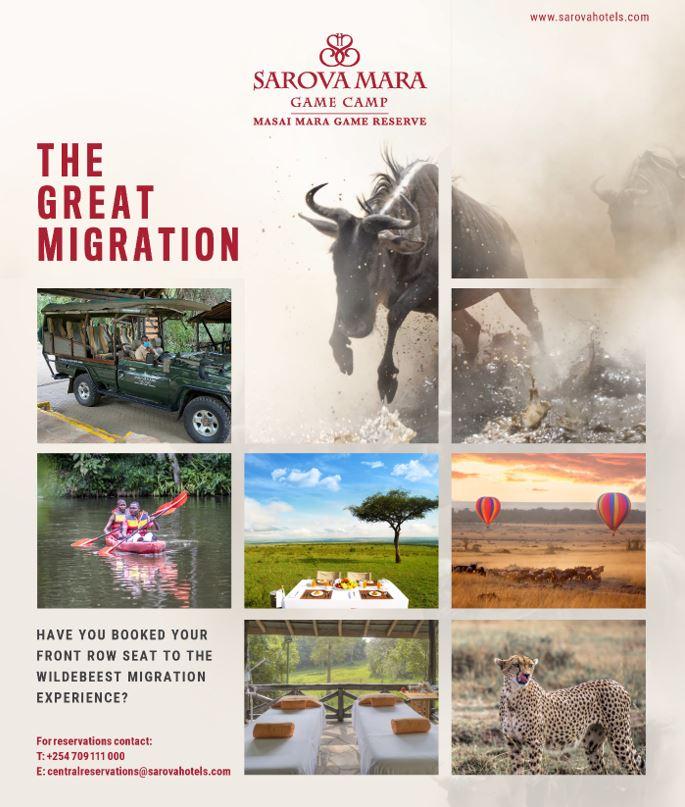 Sarova Mara Wildebeest Migration - Book Now!