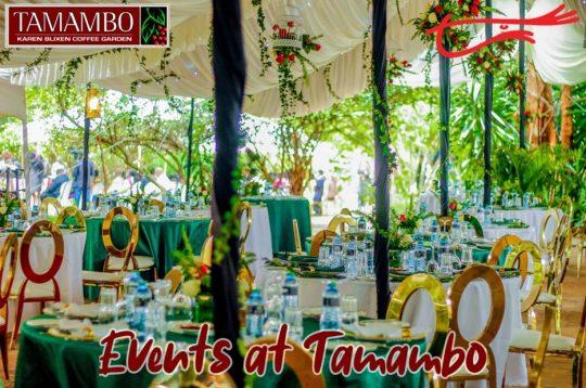 The Perfect Nairobi Event Venue - Tamambo Karen Blixen