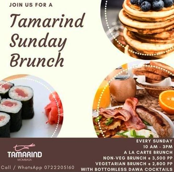 Tamarind Mombasa Sunday Brunch