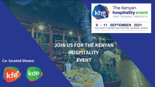 Welcome to the Kenyan Hospitality Event in September 2021