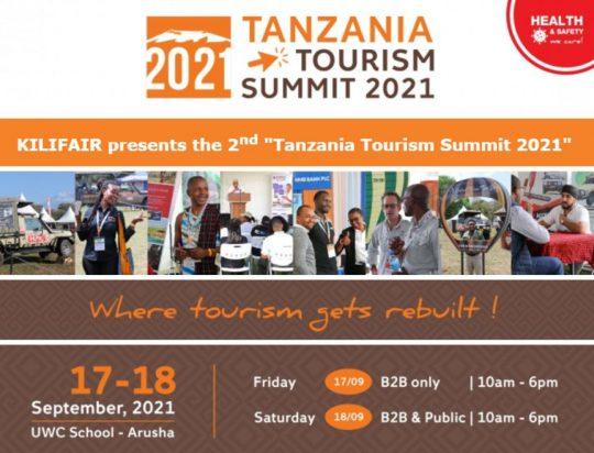 2nd Tanzania Tourism Summit 2021 - Presented by KILIFAIR