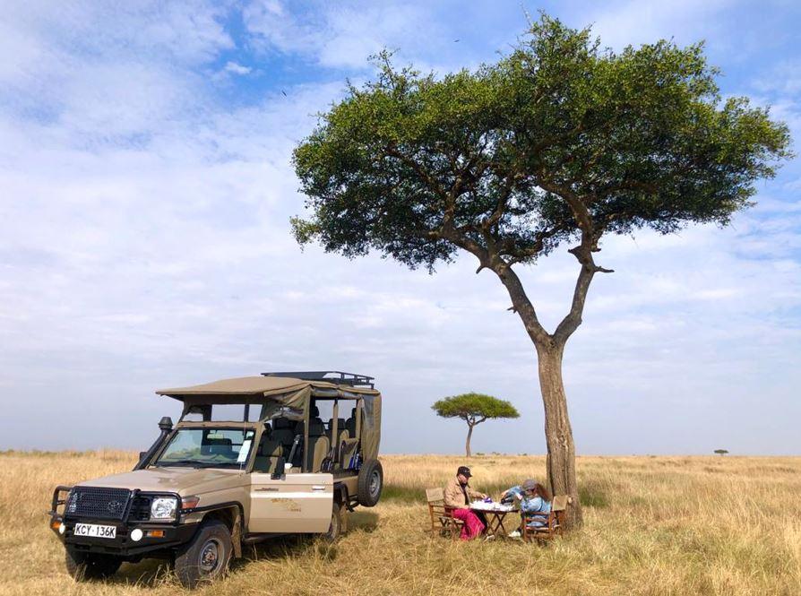 The Masai Mara Wildebeest Migration At Ashnil Mara