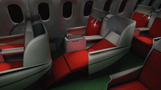 Business Class Upgrade with Ethiopian Airlines