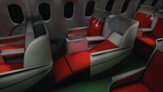 Free Upgrade To Business Class - Ethiopian Airlines