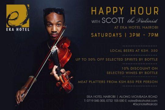 Happy Hour At Eka Hotel, Nairobi