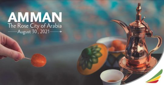 Flights to Amman, New Flights Operations By Ethiopian Airlines