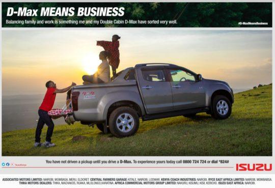 Isuzu Double Cab Pickup - D-Max Means Business