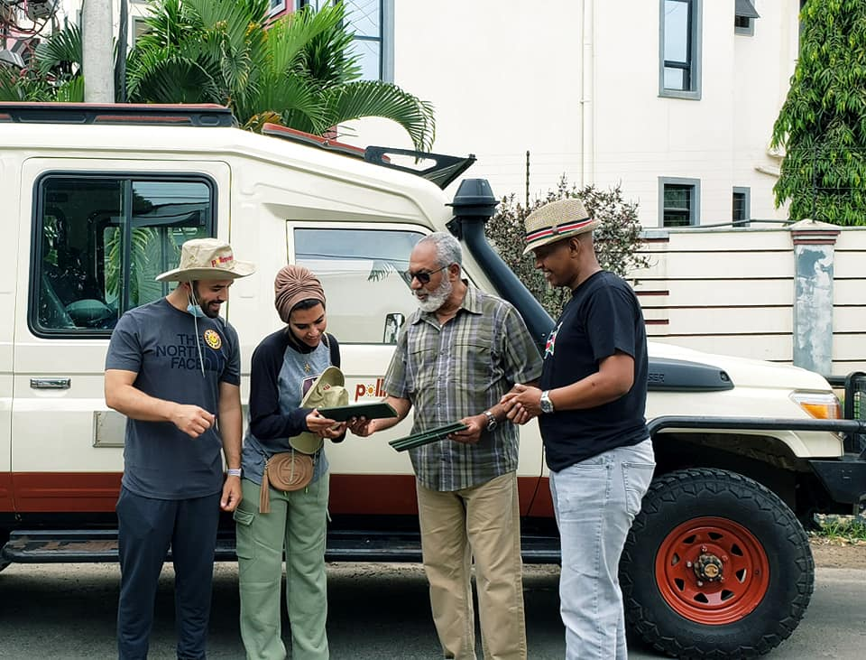 Khalid Al Ameri Visits Kenya