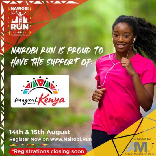 Nairobi Run Supported by Kenya Tourism Board