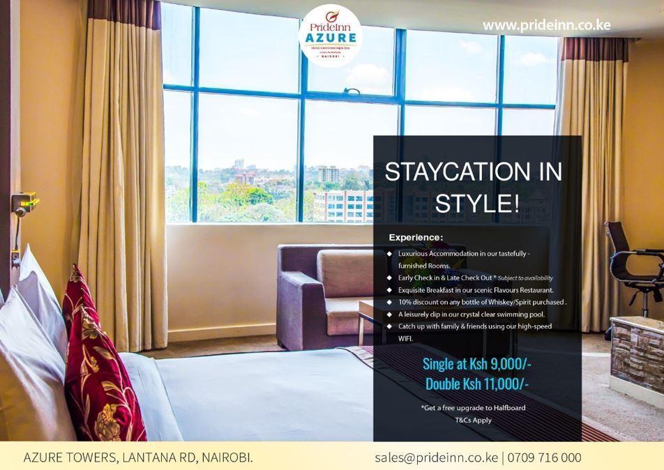 Staycation Offer At Prideinn Azure