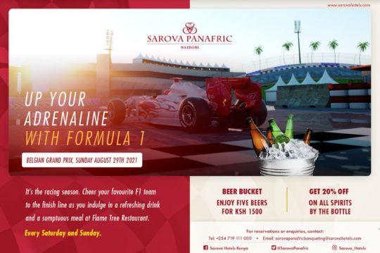 Up Your Adrenaline with Formula 1 at Sarova Panafric