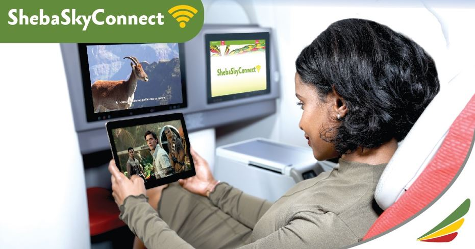 Shebasky Wifi Connect With Ethiopian Airlines