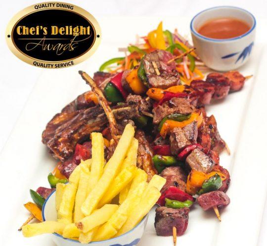 Chef Delight Kenyan Choma Platter Recipe by Chef Ahmed Kibwana
