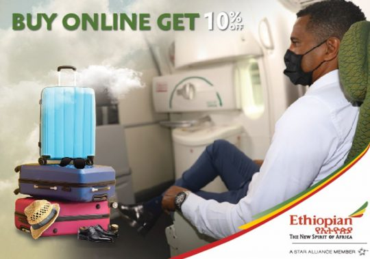 Book Online Tickets with Ethiopian Airlines