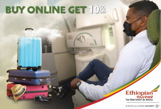 Excess Baggage Discount With Ethiopian Airlines