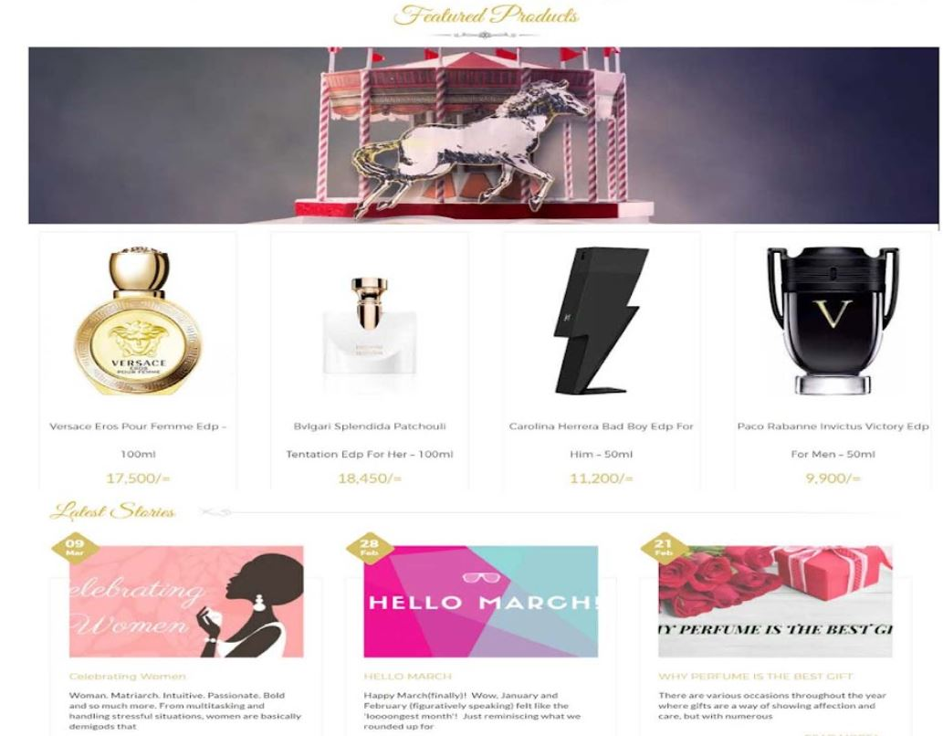 Buy Online or Order Delivery with Fragrance Lounge