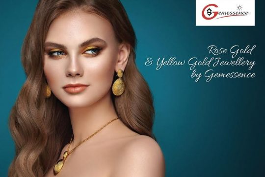 Rose Gold & Yellow Gold Jewellery Collection From Gemessence