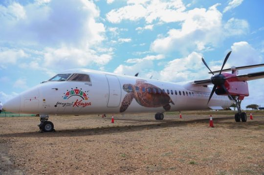 Jambojet Unveils Magical Kenya Branded Aircraft