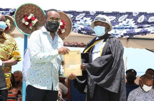 Graduation Ceremony Of 300 Beach Operators In Partnership Of KCTA