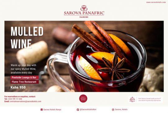 Mulled Wine Offer at Sarova Panafric