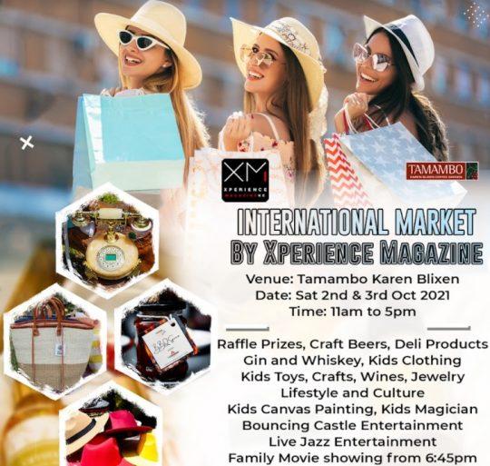 Nairobi Shopping Weekend at Tamambo Karen Blixen