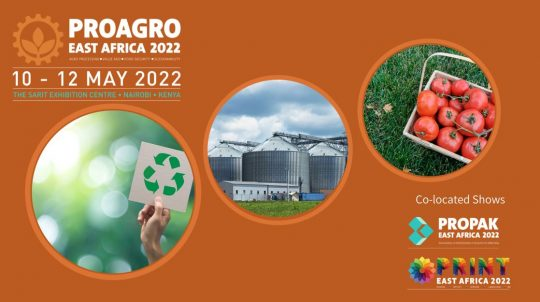 Book Your Stand For Pro-Agro East Africa 2022