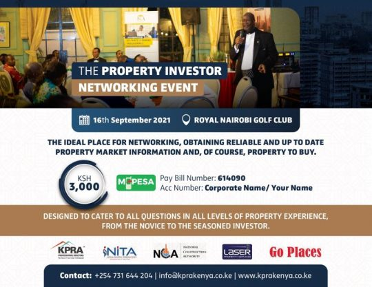 The Property Investor Networking Event - 16th Sept 2021
