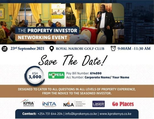The Property Investor Networking Event – 23rd Sept 2021