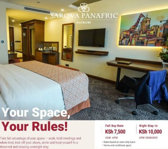 Get Productive In Your Space - Sarova Panafric