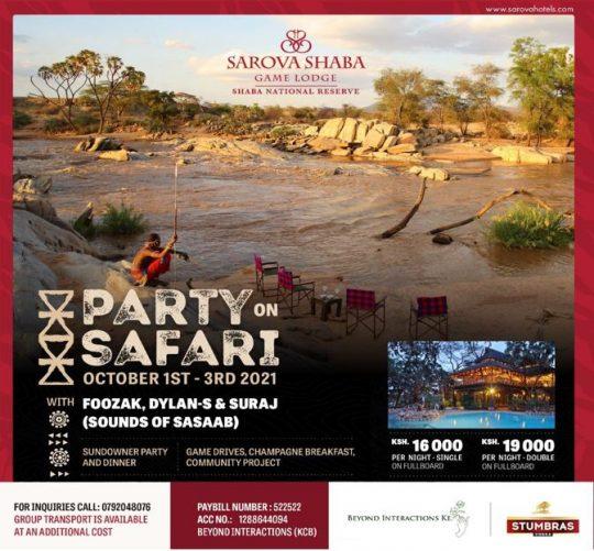 Sarova Shaba - Party on Safari