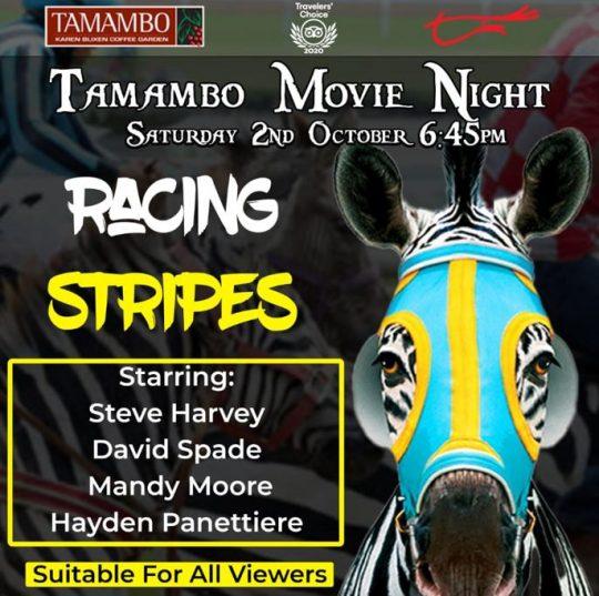 Tamambo Movie Night - Saturday 2nd October