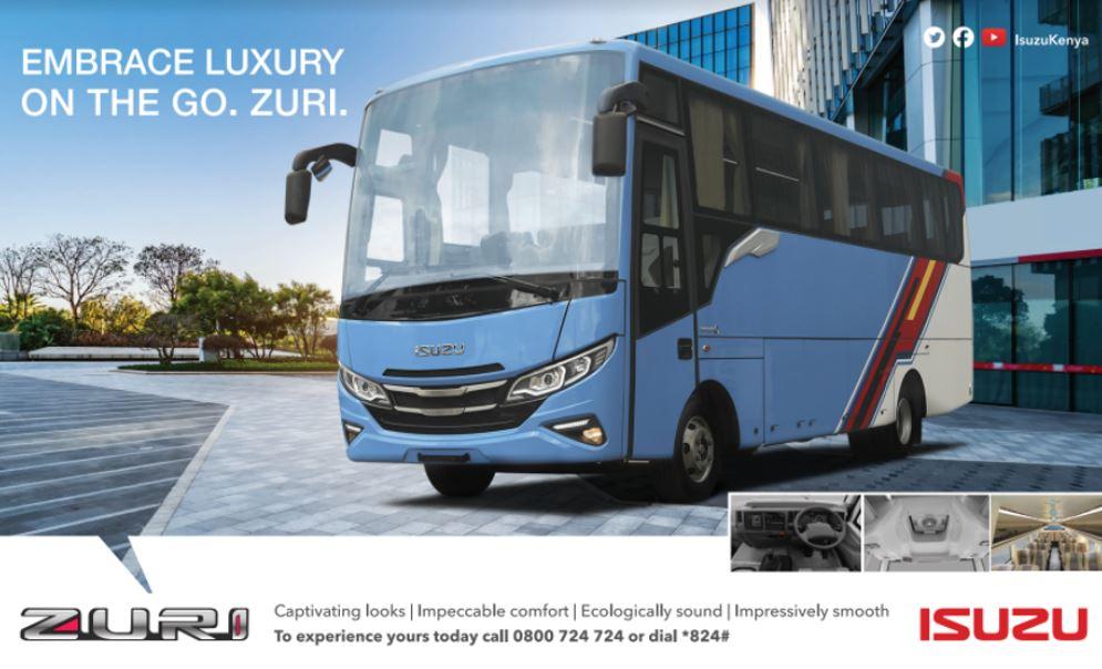 Zuri Luxury Bus From Isuzu