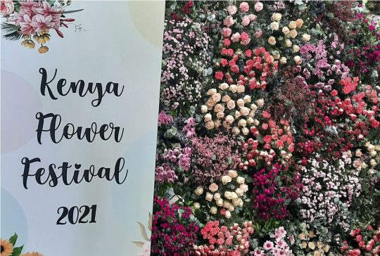2nd Annual Kenya Flower Expo - Sharing Moments