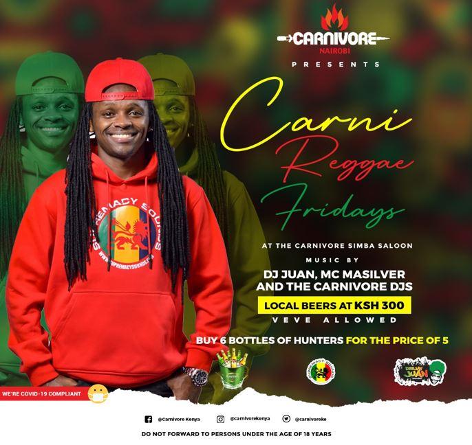 Carni Reggae Fridays Brought To You By Carnivore Nairobi