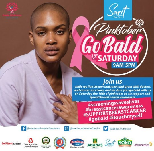 Join us in Celebrating Breast Cancer Awareness Month with The Dada Wellness Festival