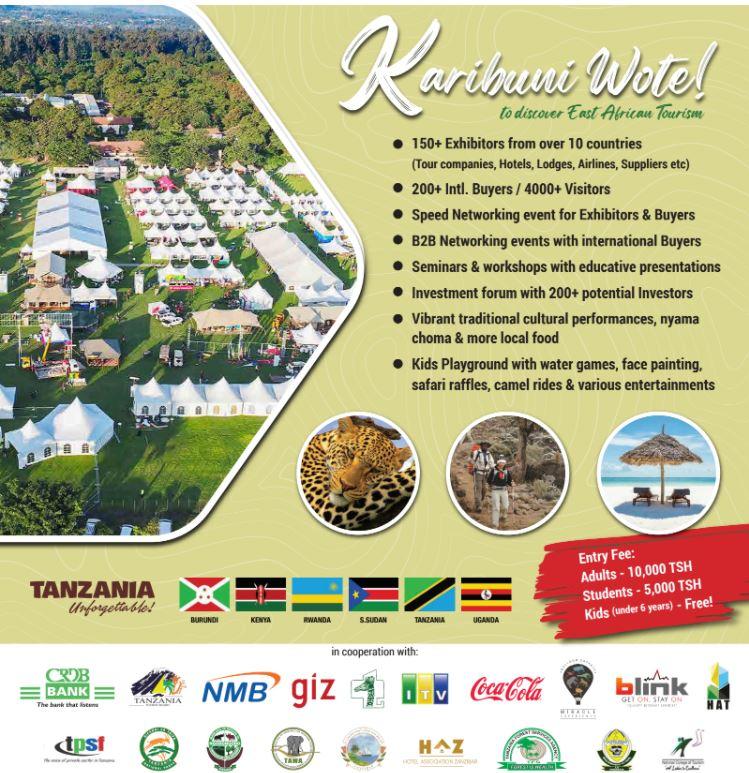 Welcome To The EAC Regional Tourism Expo 2021 – Arusha, Tanzania