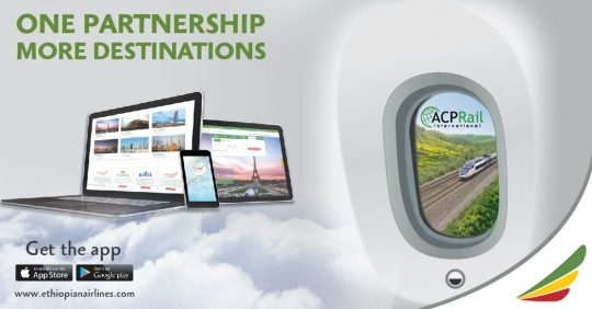 Ethiopian Airlines Partnership With Access Rail