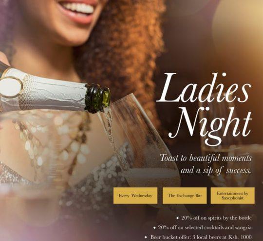 Ladies Night At Sarova Stanley