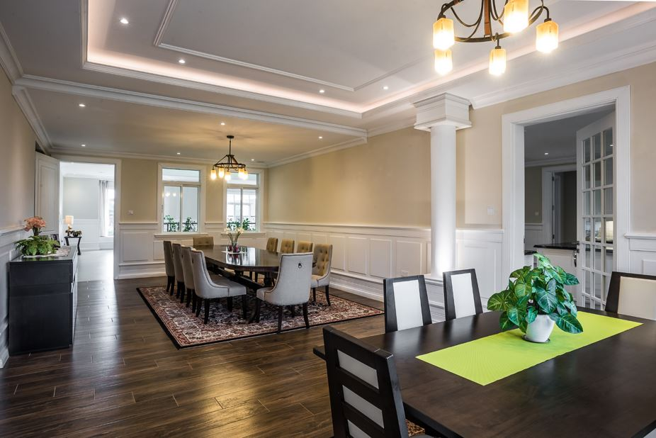 Custom Dining Room Designs by Panesar