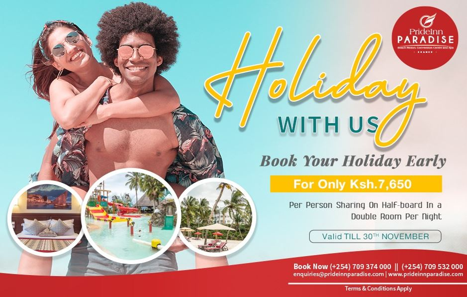 Holiday With Us - Prideinn Paradise