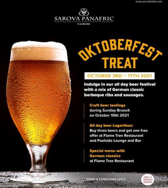Oktoberfest Treat With Sarova Panafric