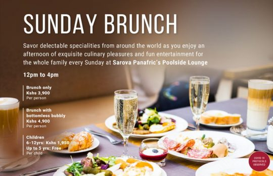 Special Sunday Brunch At The Sarova Panafric