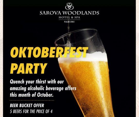 Oktoberfest At Sarova Woodlands