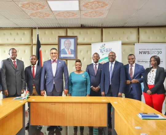 Tour Operators Society of Kenya Courtesy Visit to Honorable CS Tourism Najib Balala's Office